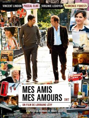 Jaquette dvd Mes Amis Mes Amours
