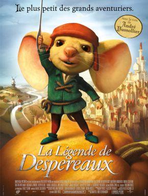 DVD La Légende de Despereaux