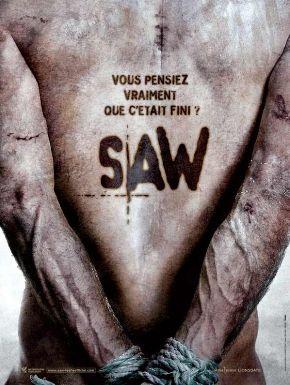 Sortie DVD Saw 5