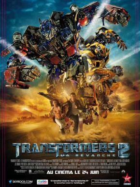 Jaquette dvd Transformers 2