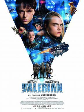 Sortie DVD Valérian Et La Cité Des Mille Planètes