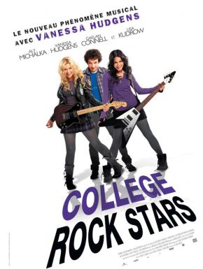 Jaquette dvd College Rock Stars