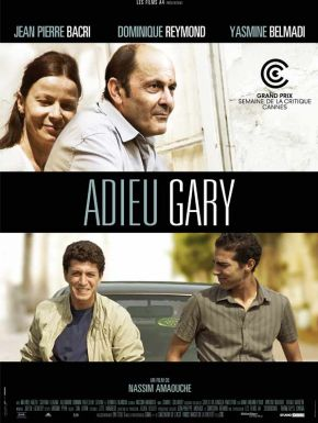 Jaquette dvd Adieu gary