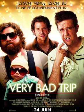 Sortie DVD Very bad trip