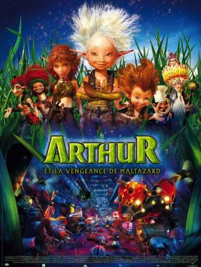 Sortie DVD Arthur et la vengeance de Maltazard