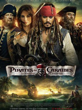 sortie dvd  Pirates Des Caraïbes - La Fontaine De Jouvence