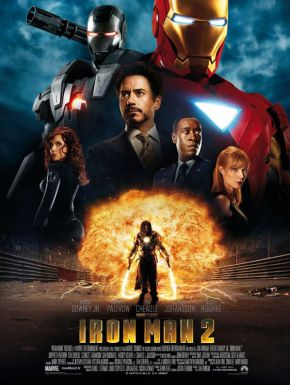 Jaquette dvd Iron Man 2