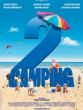 Jaquette dvd Camping 2