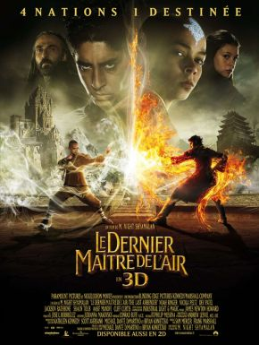 Sortie DVD The Last Airbender - Le Dernier Maître De L'air