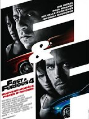DVD Fast And Furious 4