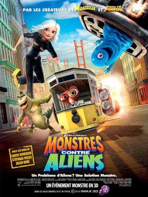 Sortie DVD Monstres contre Aliens