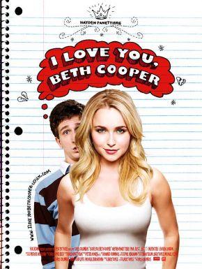 sortie dvd  I love you Beth Cooper