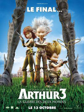 Sortie DVD Arthur 3 - La guerre des deux mondes