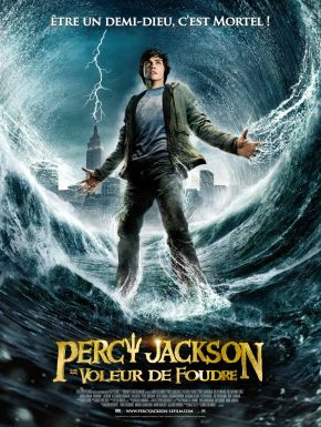 sortie dvd  Percy Jackson Le Voleur De Foudre