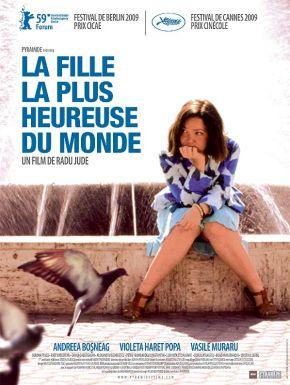 Jaquette dvd La Fille La Plus Heureuse Du Monde