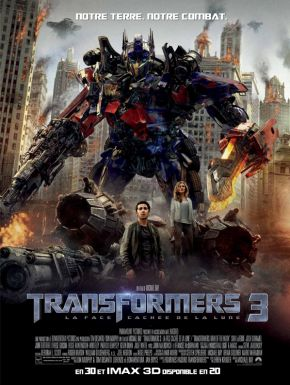 Sortie DVD Transformers 3