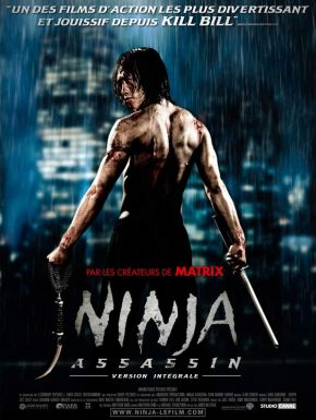 Ninja Assassin DVD et Blu-Ray