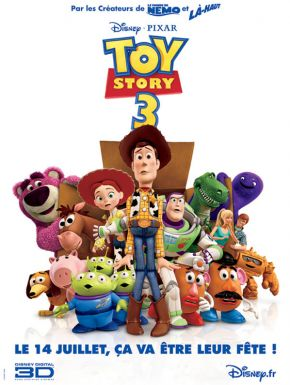 Toy Story 3 DVD et Blu-Ray