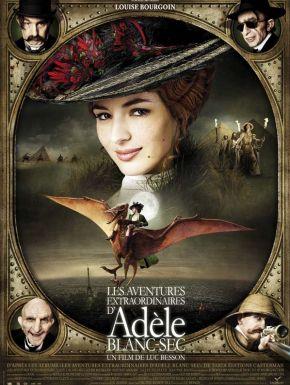Sortie DVD Les Aventures Extraordinaires D'Adèle Blanc-Sec