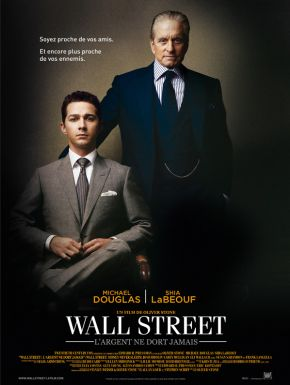 sortie dvd  Wall Street - l'argent ne dort jamais