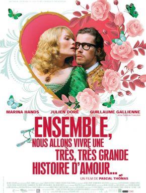 Sortie DVD Ensemble Nous Allons Vivre Une Très Très Belle Histoire D'amour
