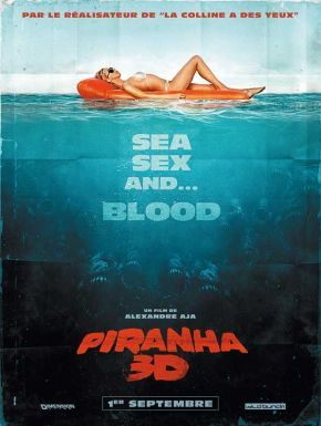 Piranha 3D DVD et Blu-Ray