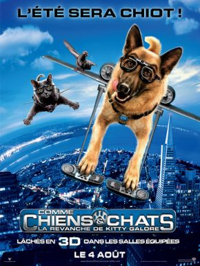 Comme chiens et chats - La Revanche de Kitty Galore DVD et Blu-Ray