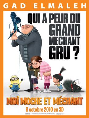 sortie dvd  Moi Moche Et Méchant