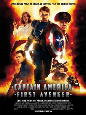The First Avenger - Captain America DVD et Blu-Ray
