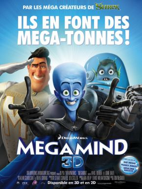 Megamind DVD et Blu-Ray