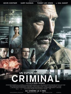 sortie dvd  Criminal - Un Espion Dans La Tête