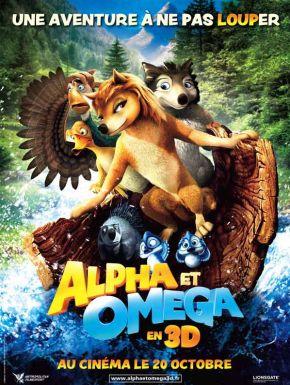 sortie dvd  Alpha Et Omega - 3D