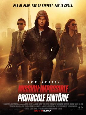 Mission: Impossible - Protocole Fantôme DVD et Blu-Ray