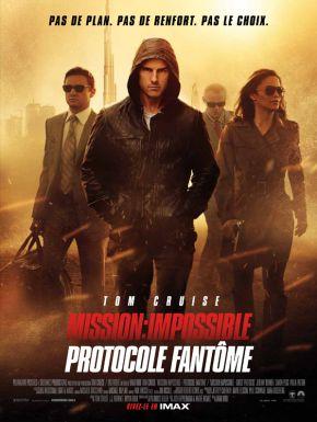 Jaquette dvd Mission: Impossible - Protocole Fantôme