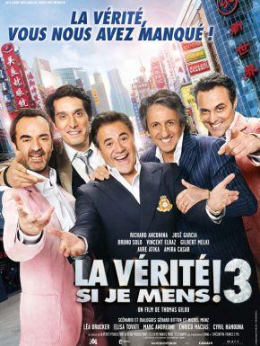 Sortie DVD La Vérité Si Je Mens 3