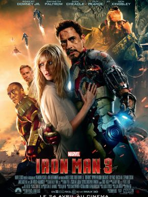 DVD Iron Man 3