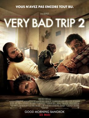 sortie dvd	  Very Bad Trip 2