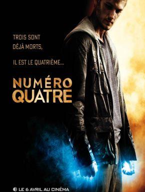 Numéro Quatre DVD et Blu-Ray
