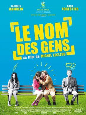 Le Nom Des Gens DVD et Blu-Ray