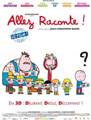 Jaquette dvd Allez Raconte