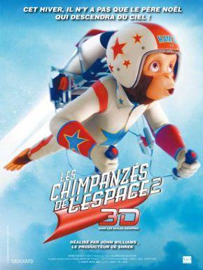 DVD Les chimpanzes de l'espace 2 3D
