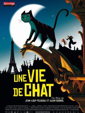 Sortie DVD Une vie de chat