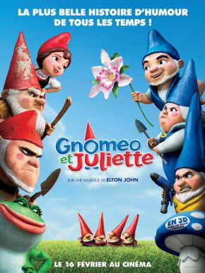 Gnomeo and Juliet DVD et Blu-Ray