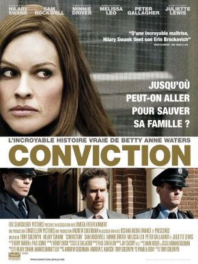 Sortie DVD Conviction