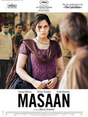 Jaquette dvd Masaan