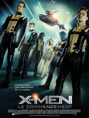 DVD X-Men - Le Commencement