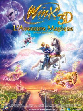 Winx club l'aventure magique 3D DVD et Blu-Ray