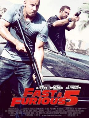 Sortie DVD Fast & Furious 5