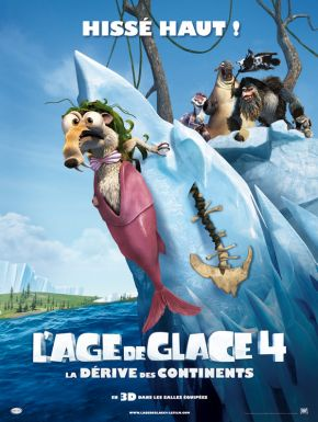 Sortie DVD L'Âge de glace 4 : La dérive des continents