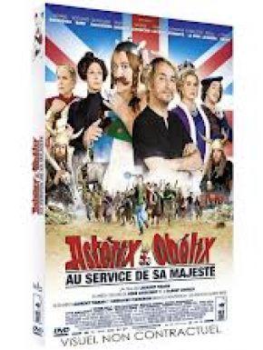 Sortie DVD Asterix Et Obelix Au Service De Sa Majesté